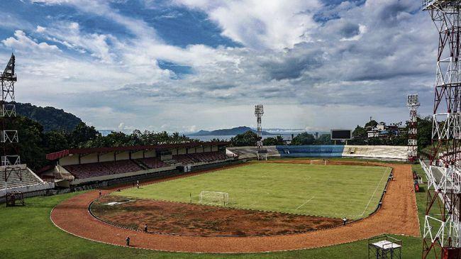 Stadion Mandala telah siap menghadapi PON XX Papua 2021